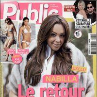 Nabilla Benattia : souriante et sexy pour son grand retour médiatique