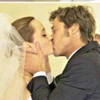 Angelina Jolie et Brad Pitt mariés... avant leur mariage en France