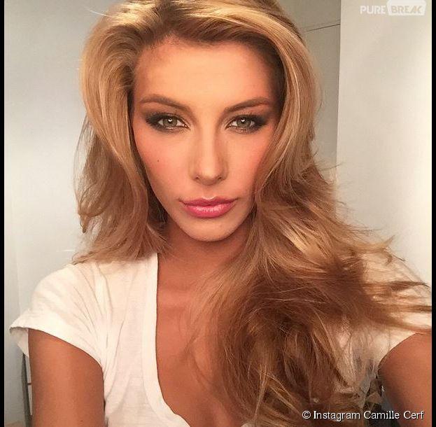 Camille Cerf est candidate au concours Miss Univers 2015