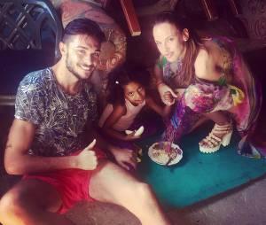 Vanessa Lawrens et Julien Guirado en voyage aux Caraïbes