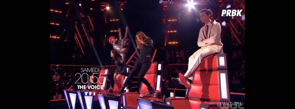 The Voice : Jenifer, Zazie et Mika deviennent fous pendant les castings sur TF1