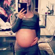 """Stéphanie Clerbois (Secret Story 4) enceinte et prête """"à exploser"""" sur Instagram"""