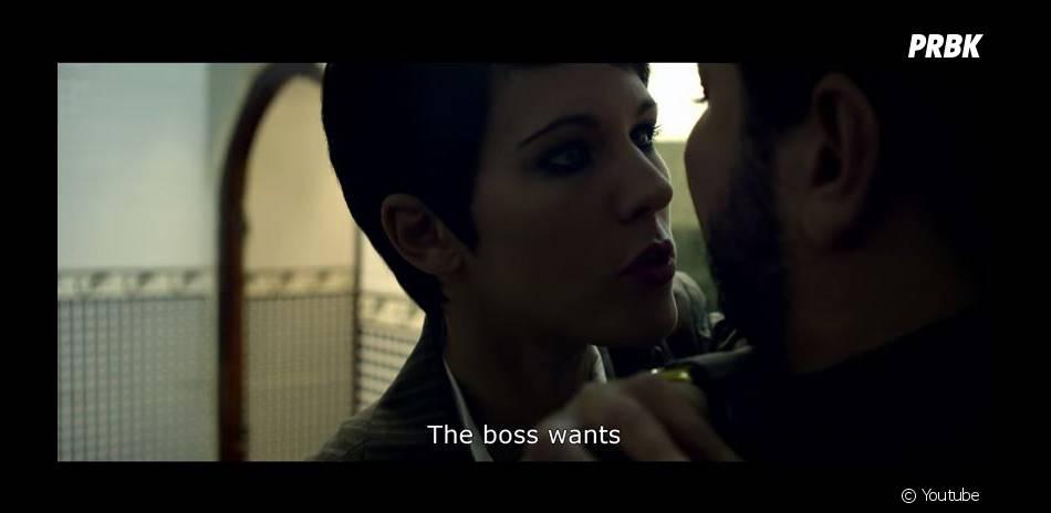 Lorie Pester en tueuse à gages dans la bande-annonce du film Algérie pour toujours