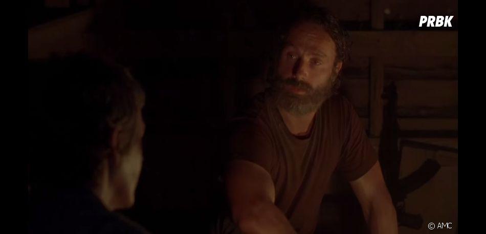 The Walking Dead saison 5 : Rick prêt à positiver