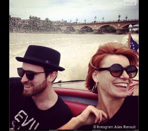 Fauve Hautot et Jules Renault : un couple complice sur Instagram
