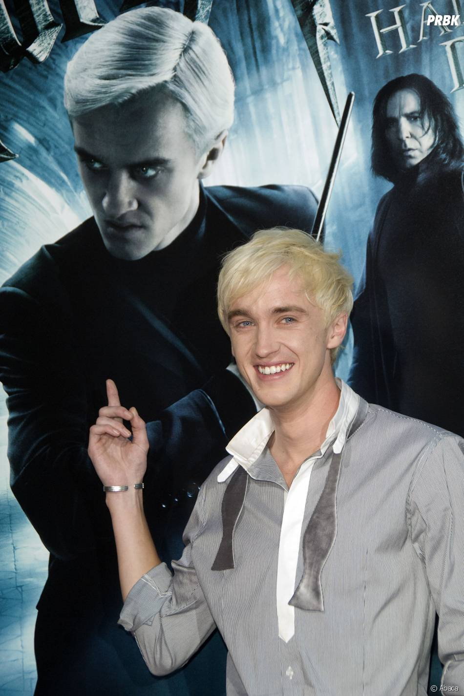Harry Potter : Tom Felton à l'avant-première de Harry Potter et le Prince de Sang-Mêlé