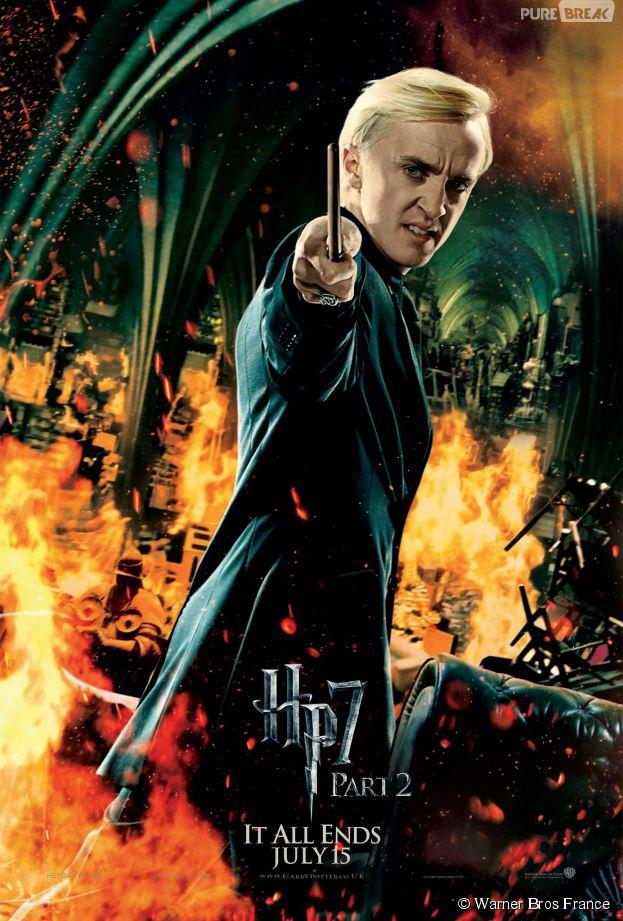 Harry Potter : Drago Malefoy aurait dû finir chez Gryffondor