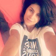 Karine Ferri sublime au réveil et au naturel sur Twitter