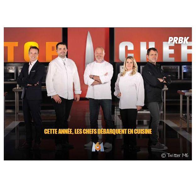 Top Chef : Hélène Darroze et Michel Sarran, à droite sur la photo, dans le jury de la saison 6
