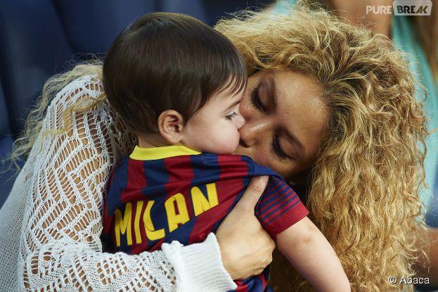 Shakira : Milan a accueilli son petit frère, le 29 janvier 2015