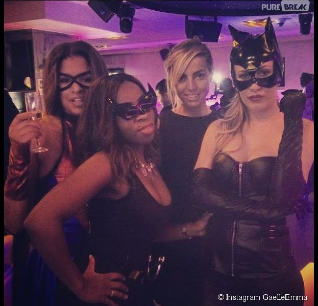 Les Ch'tis : Gaëlle en Catwoman sexy pour son anniversaire