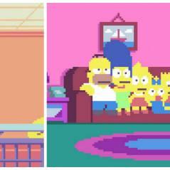 Pour les geeks : voici le générique ULTIME des Simpson complètement pixelisés