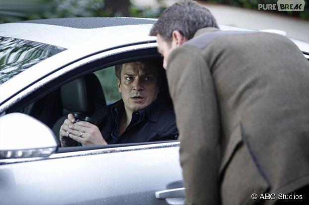 Castle saison 7, épisode 13 : Rick (Nathan Fillion) témoin d'un meurtre