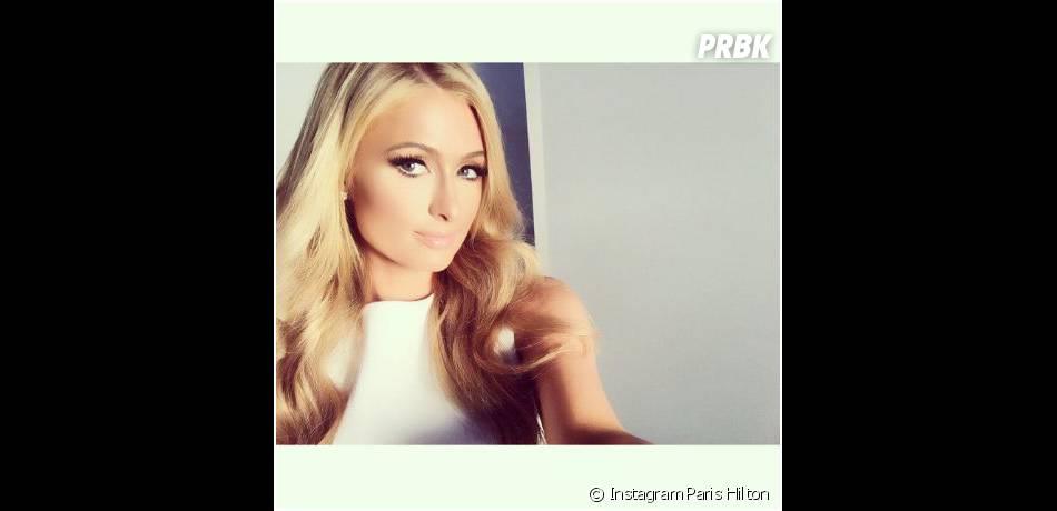 Paris Hilton en mode selfie sur Instagram le 1er février 2015
