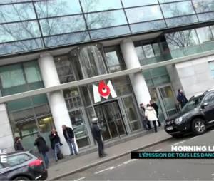 Michaël Youn menacé par une arme dans Le Morning Live, extrait diffusé dans Derrière le poste sur D8