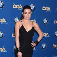 """Lea Michele décolletée et sexy pour la """"meilleure soirée de tous les temps"""""""