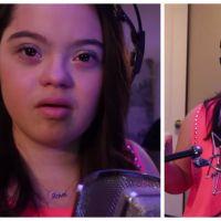 """Cette petite fille handicapée mentale qui chante """"All of me"""" va vous émouvoir"""