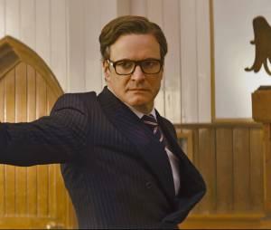 Kingsman Services Secrets : Colin Firth sur une photo