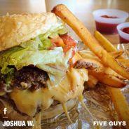 Five Guys : les burgers préférés d'Obama débarquent à Paris