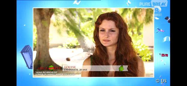 Adam recherche Eve : Louise, une jolie rousse candidate de la télé-réalité nudiste de D8