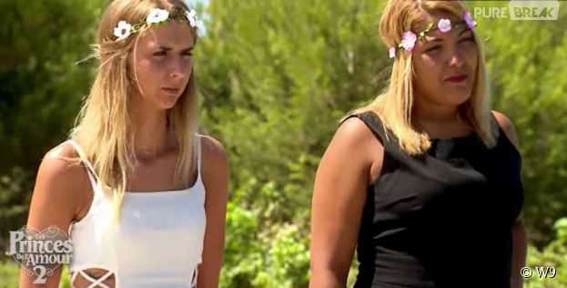 Les Princes de l'amour 2 : Stacy et Camille lors de la cérémonie finale