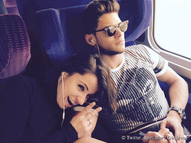 Rayane Bensetti et Denitsa Ikonomova complices sur Twitter, le 12 février 2015