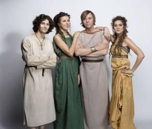 Peplum : Bravus et sa famille dans la série de M6