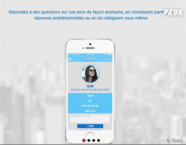 Gutsy, l'appli iPhone pour savoir ce que pensent vraiment vos amis de vous