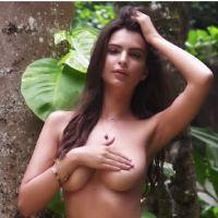 Emily Ratajkowski à moitié nue : topless et ultra sexy pour un nouveau shooting à Hawaii