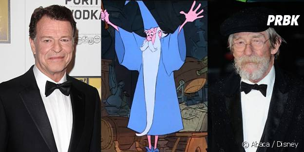 John Noble ou John Hurt pour jouer Merlin dans Once Upon a Time ?