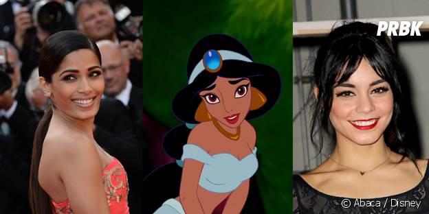 Freida Pinto ou Vanessa Hudgens pour jouer Jasmine dans Once Upon a Time ?