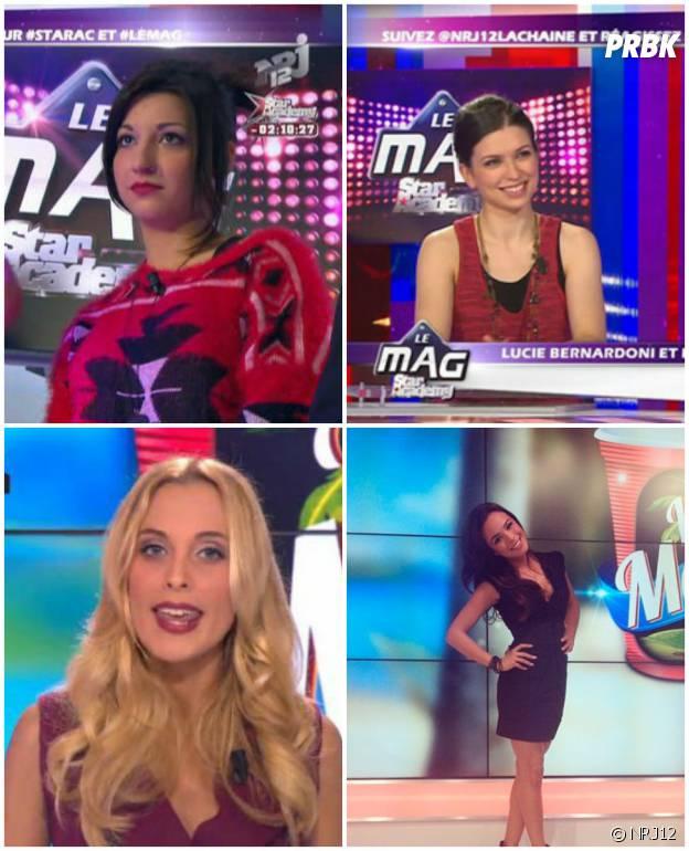 Lucie Azard, Lucie Bernardoni, Davia Martelli... Les chroniqueuses du Mag NRJ12