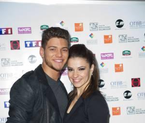 Rayane Bensetti et sa partenaire de Danse avec les Stars 5, Denitsa Ikonomova