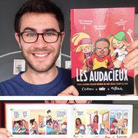 Cyprien signe chez Dupuis : bientôt une BD pour le YouTuber !