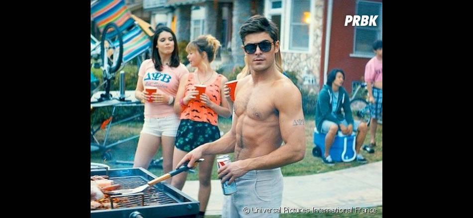 Zac Efron : sa prestation torse-nu dans Nos Pires Voisins nommée aux MTV Movie Awards 2015