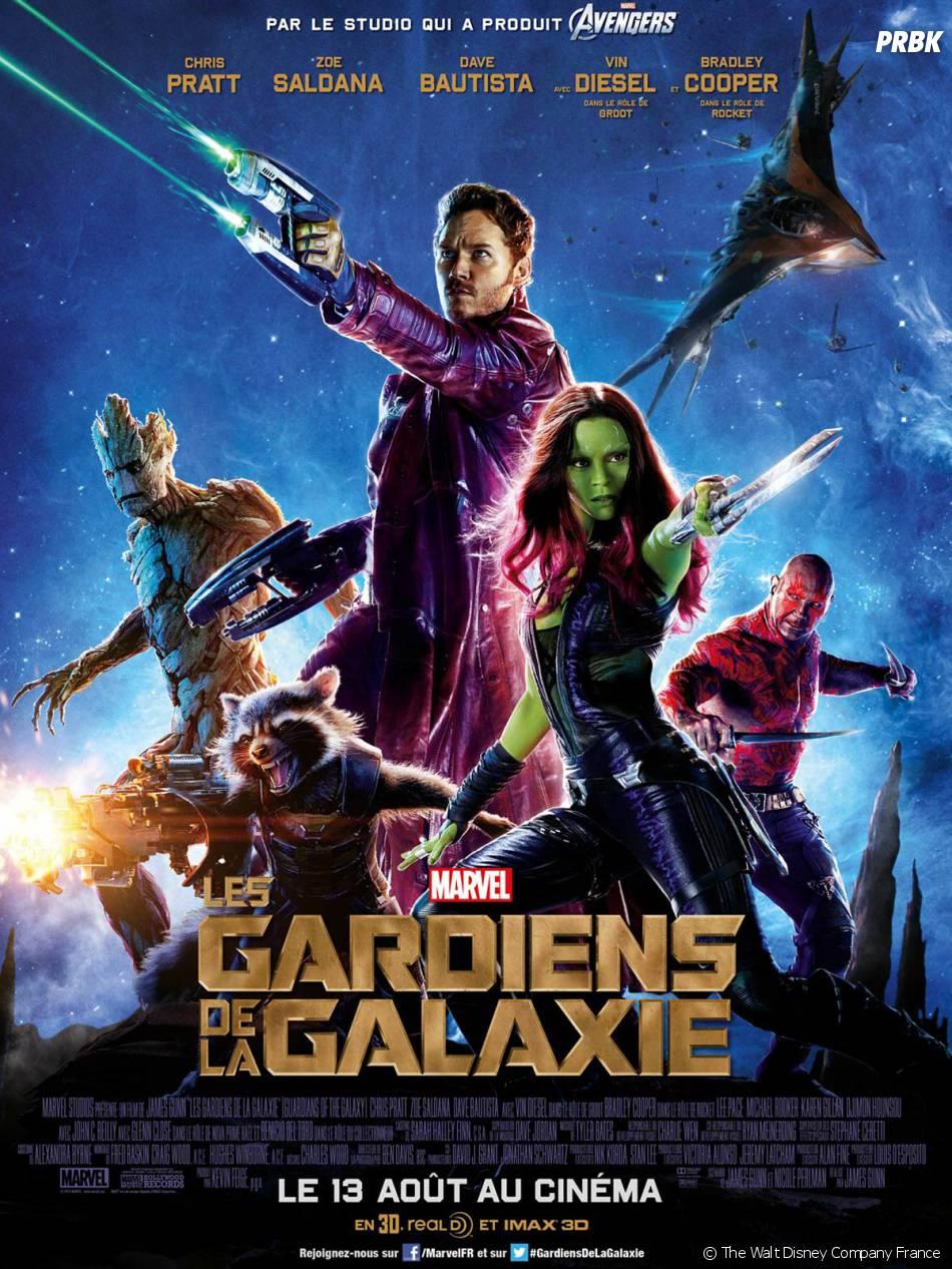 Les Gardiens de la Galaxie nommé aux MTV Movie Awards 2015
