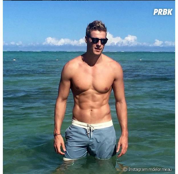 Matthieu Delormeau sexy à Rio avant son retour en France