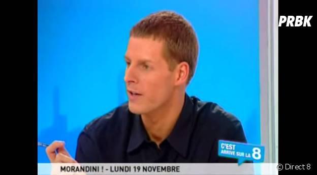 Matthieu Delormeau dans l'émission de Jean-Marc Morandini sur Direct 8