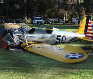 Harrison Ford : l'acteur indemne après le crash d'un avion le 5 mars 2015