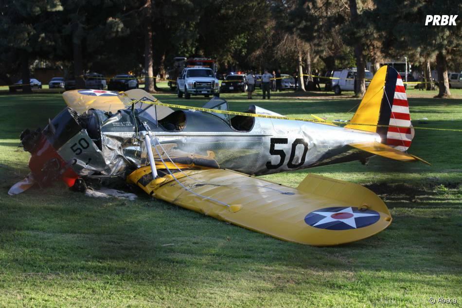 Harrison Ford : l'acteur indemne après le crash d'un avion le 5 mars 2015