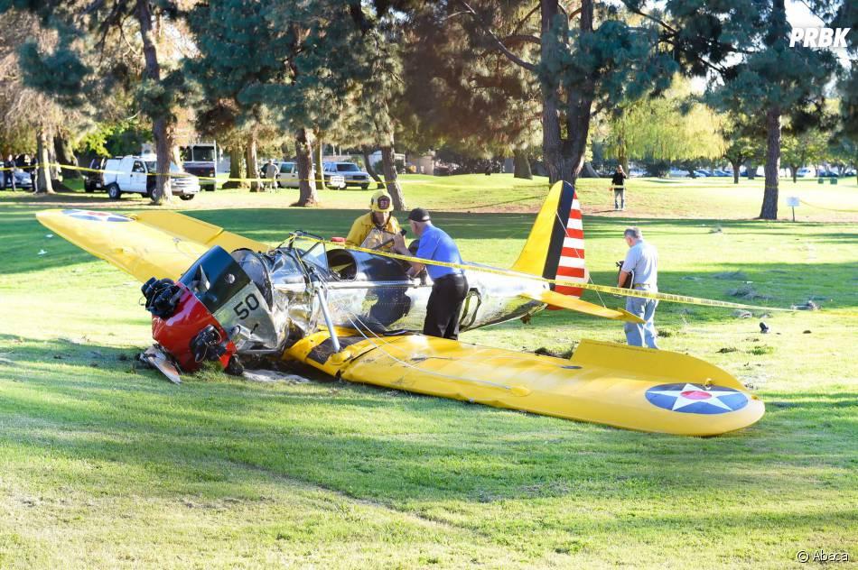 Harrison Ford : l'avion dans lequel l'acteur s'est crashé est en mauvais état