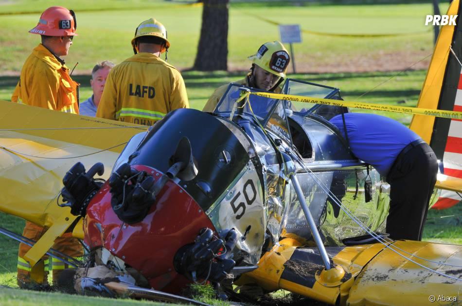 Harrison Ford miraculé après le crash d'un avion le 5 mars 2015