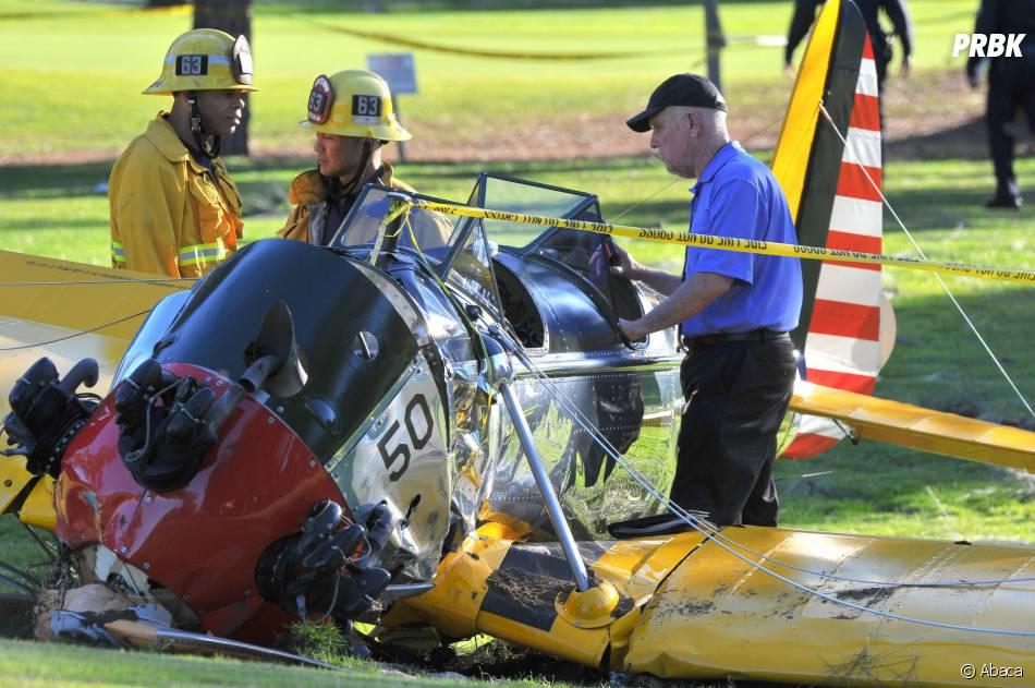 Harrison Ford : l'avion dans lequel il s'est crashé à Los Angeles le 5 mars 2015