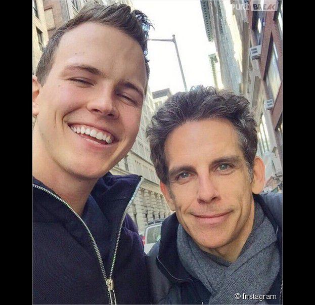 Jérome Jarre : selfie avec Ben Stiller avant de le retrouver en France