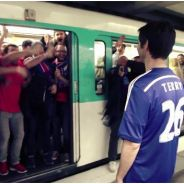 Chelsea vs PSG : les supporters de Paris parodient l'incident raciste du métro