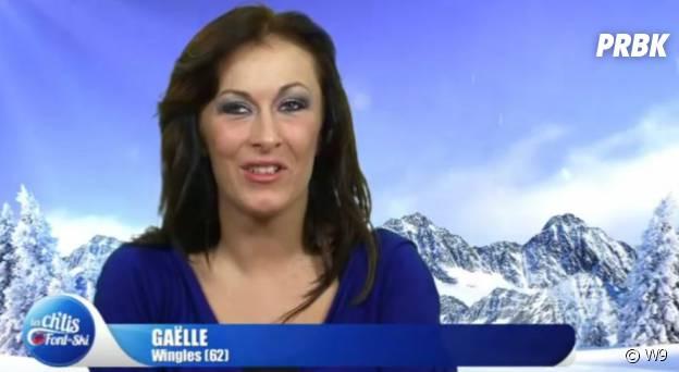 Gaëlle Petit en brune dans Les Ch'tis font du ski