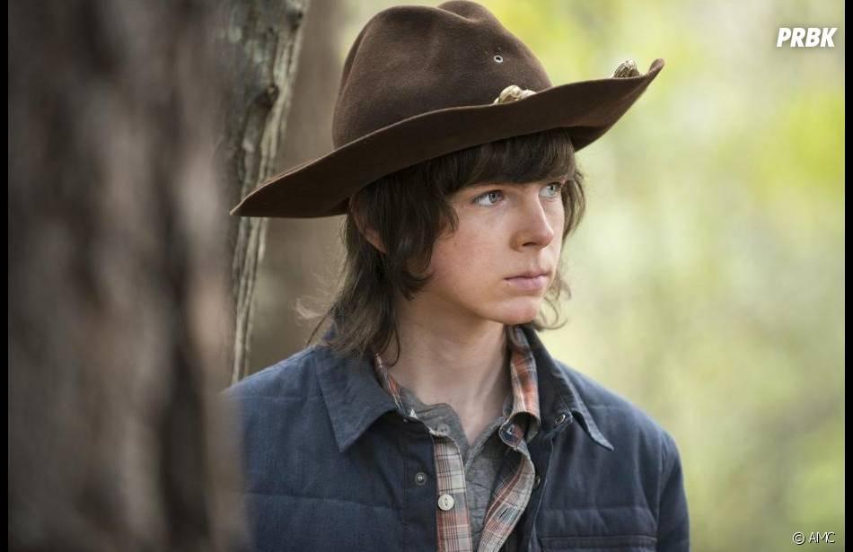 The Walking Dead saison 5 : Carl dans l'épisode 15