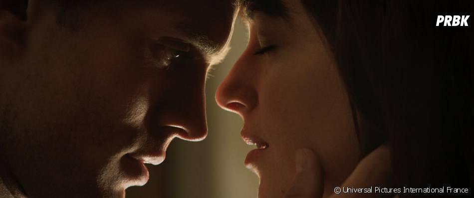Fifty Shades of Grey : Jamie Dornan et Dakota Johsnon sur une photo
