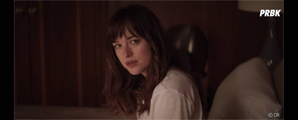 Fifty Shades of Grey : Dakota Johnson dans un extrait du film