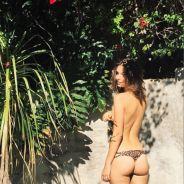 Emily Ratajkowski topless et en string : alerte sexy sur Instagram !